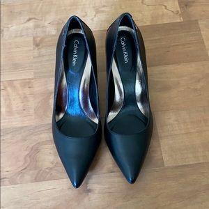 ‼️FINAL PRICE‼️ Calvin Klein Black Heels